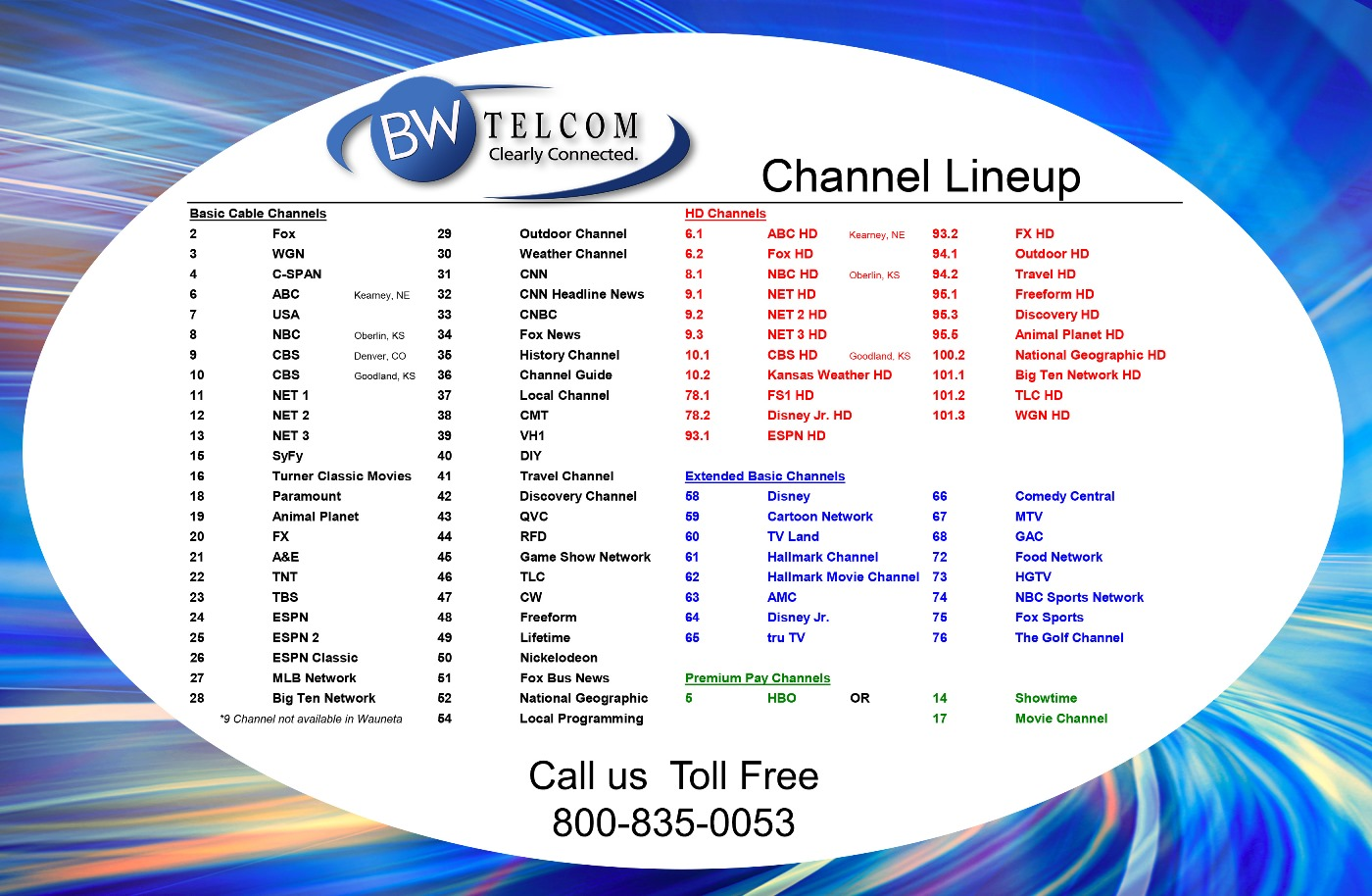Cable Television – BWTelcom